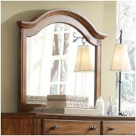 4645 237 Broyhill Furniture Hayden Place   Golden Oak Finish Bedroom Mirror