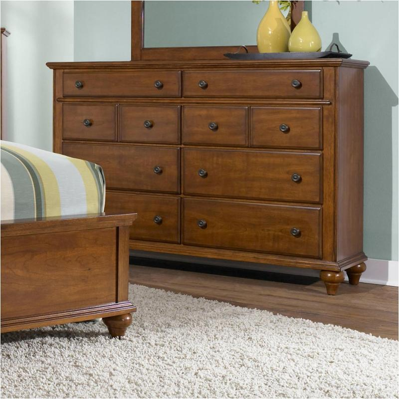 4648 230 broyhill furniture drawer dresser light cherry - Broyhill hayden place bedroom set ...