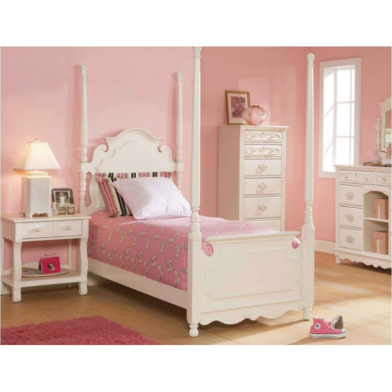 6815-364 Broyhill Furniture Genevieve Kids Room Twin Tester Bed