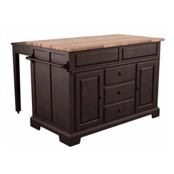 5203-505 broyhill furniture kitchen island - java