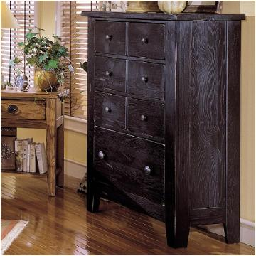 4397-40b Broyhill Furniture Attic Heirlooms Drawer Chest - Black