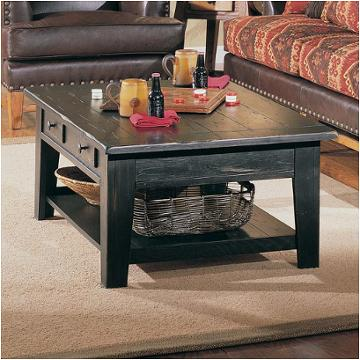 3397 01b Broyhill Furniture Rectangular Cocktail Table Black