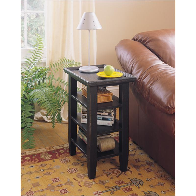 3397 07b Broyhill Furniture Accessory Table Black