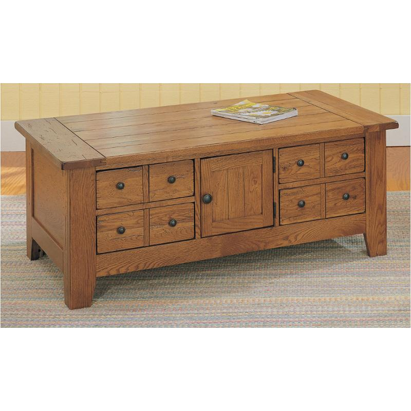 3397 35s Broyhill Furniture Attic Heirlooms Apothecary Cocktail Table Stain