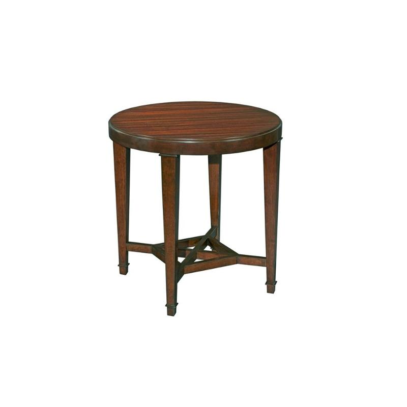 8053-006 Broyhill Furniture Antiquity Living Room End Table - 8053-006 Broyhill Furniture Antiquity Living Room Round End Table