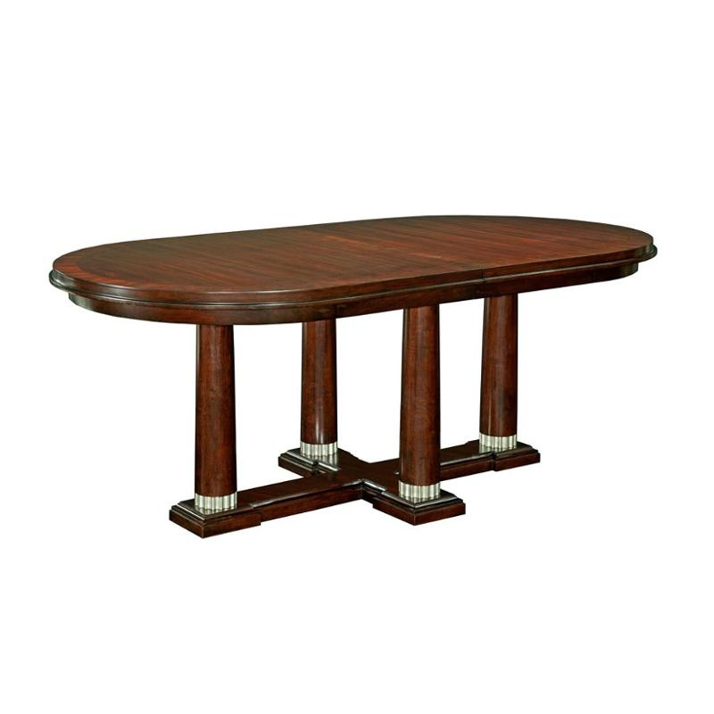 8053-531 Broyhill Furniture Antiquity Dining Room Dining Table - 8053-531 Broyhill Furniture Antiquity Dining Room Pedestal Table
