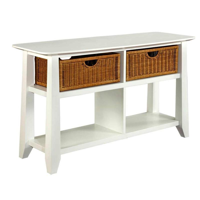 3791 009 Broyhill Furniture Owen Landing White Living Room Sofa Table
