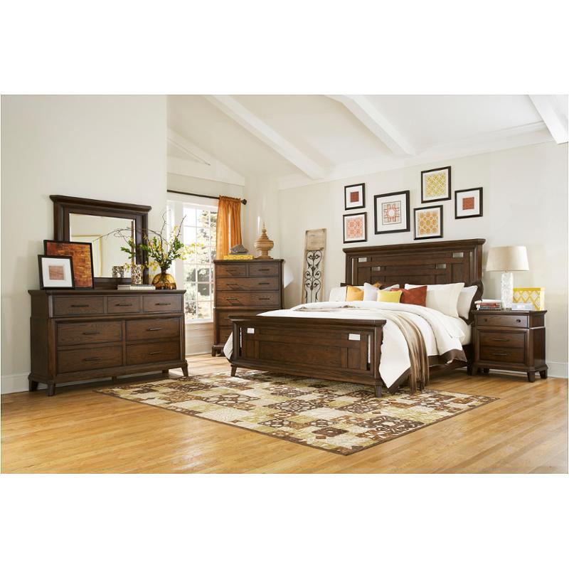 4364250 broyhill furniture estes park fullqueen panel bed