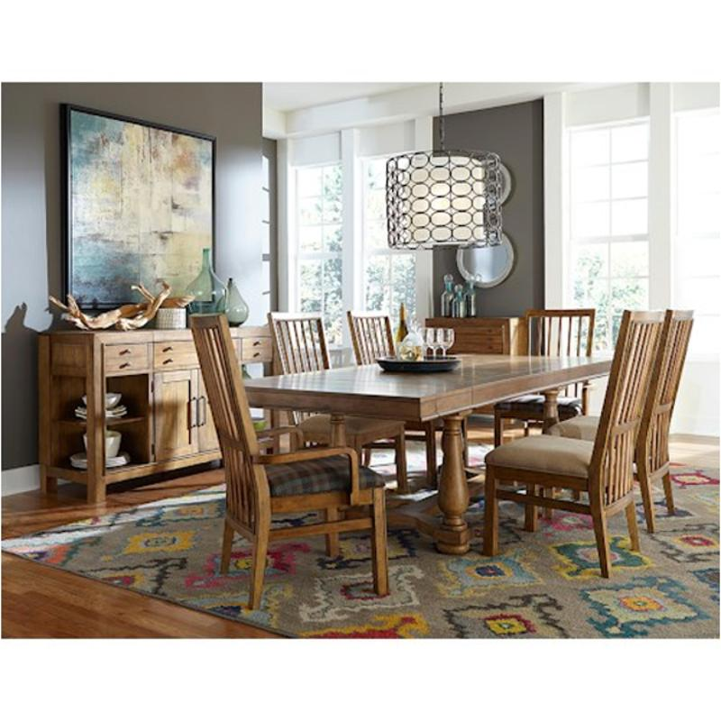 Broyhill Furniture Bethany Square Trestle Table Base - Square trestle dining table