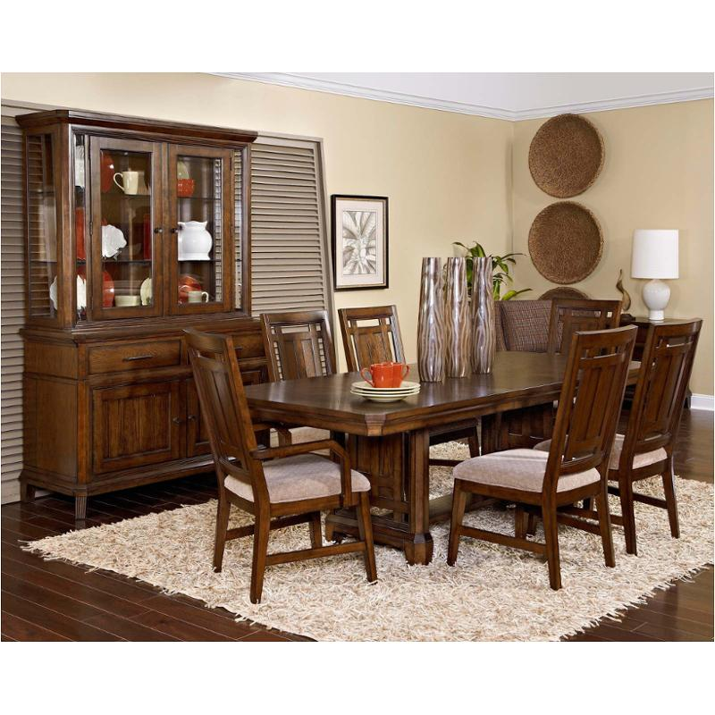 4364 531 Broyhill Furniture Estes Park Dining Room Trestle