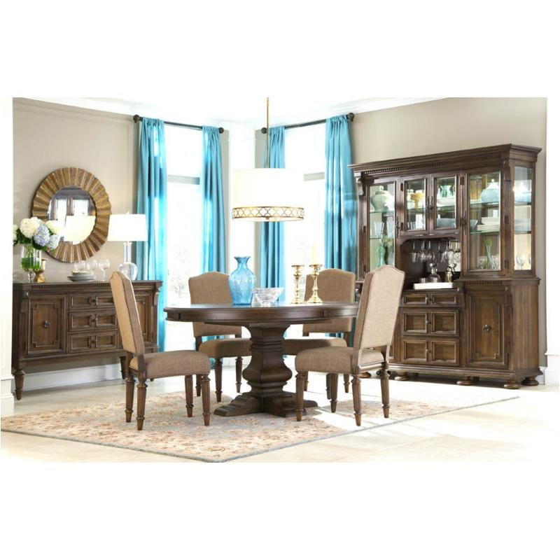 Broyhill Round Dining Table: 4912-530 Broyhill Furniture Lyla Round Pedestal Dining Table