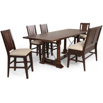 5399 523 Broyhill Furniture Counter Height Trestle Table