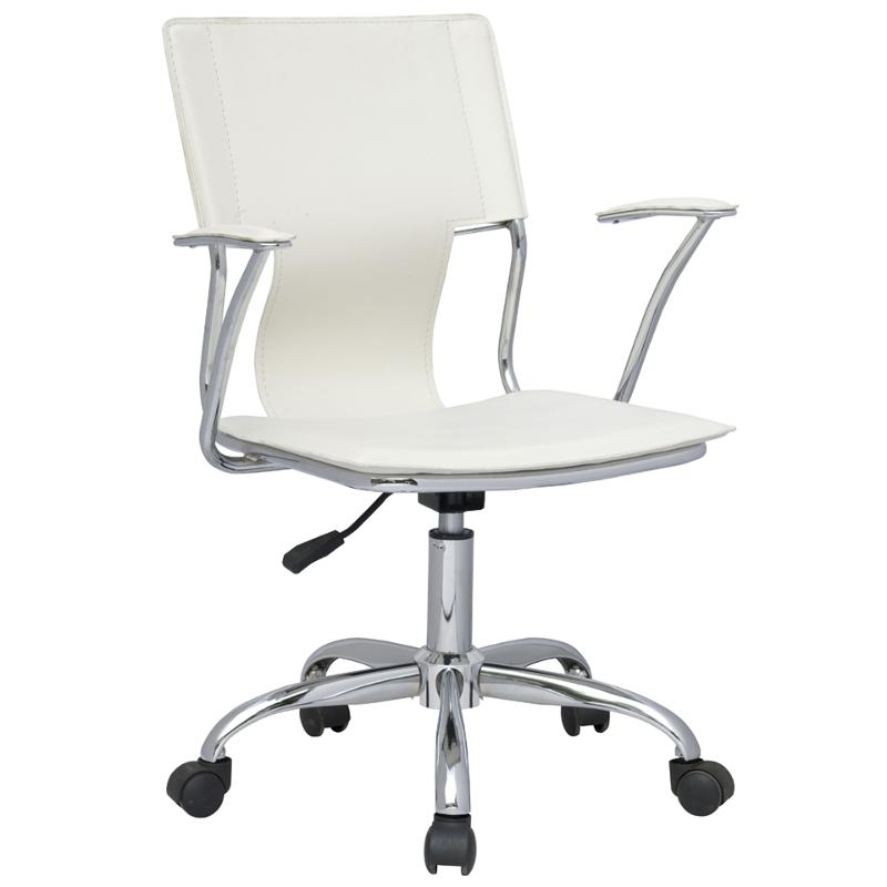 Imported Furniture Online: 0648-cch-wht Chintaly Imports Furniture Swivel Arm Chair