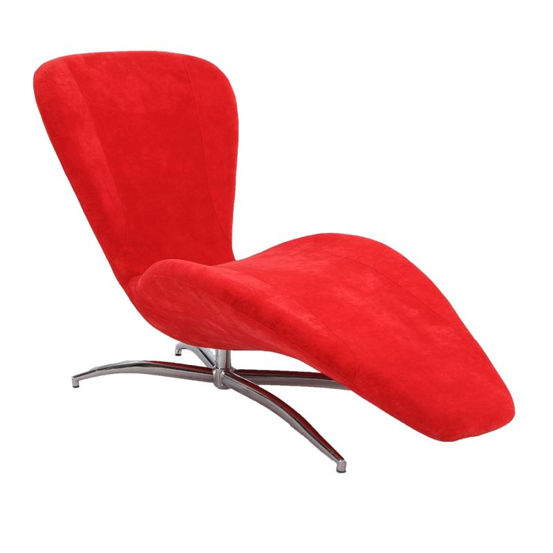 2415 Lng Red Chintaly Imports Furniture Living Room Chaise