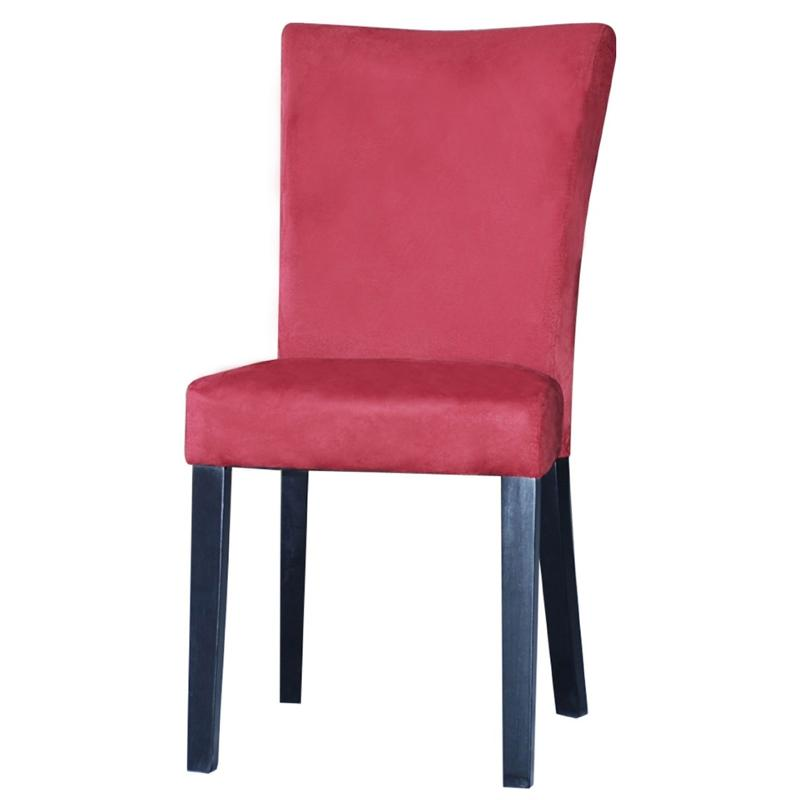 Superb Monica Prs Sc Red Chintaly Imports Furniture Monica Modern Parson Side Chair Red Beatyapartments Chair Design Images Beatyapartmentscom