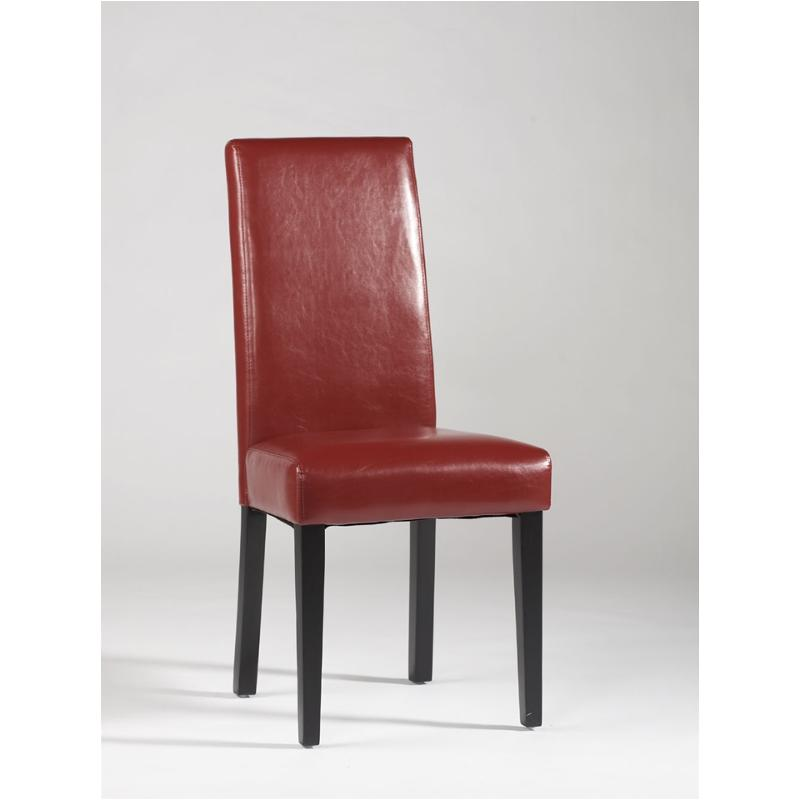 Strgt Bck Prs Sc Red Chintaly Imports Furniture Dining Chair