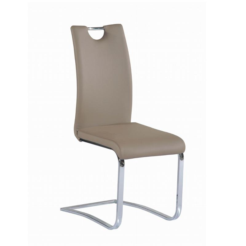 Josephine Sc Tpe Chintaly Imports Furniture Cantilever Upholstered Handle Back Side Chair