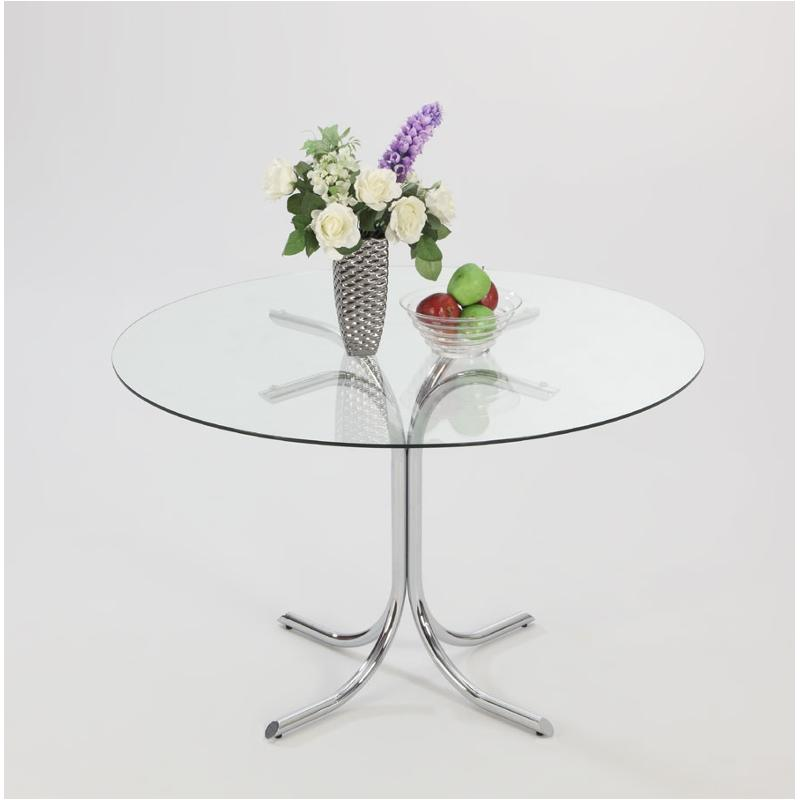 Cece Gl42 T C Chintaly Imports Furniture Chrome Table