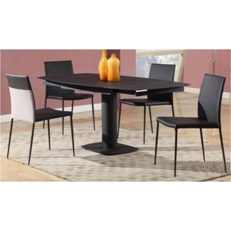 Gentil Grace Dt Blk T Chintaly Imports Furniture Grace Dining Room Dinette Table