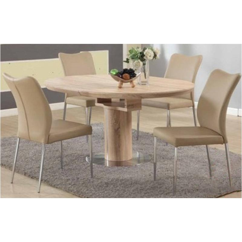 Nora Dt Oak T Chintaly Imports Furniture Nora Dining Room Dinette Table