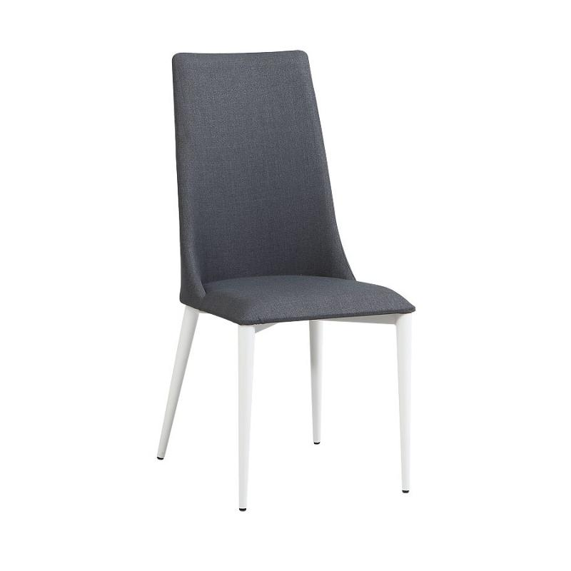Sensational Chloe Sc Gry Chintaly Imports Furniture Chloe Dining Side Chair Caraccident5 Cool Chair Designs And Ideas Caraccident5Info