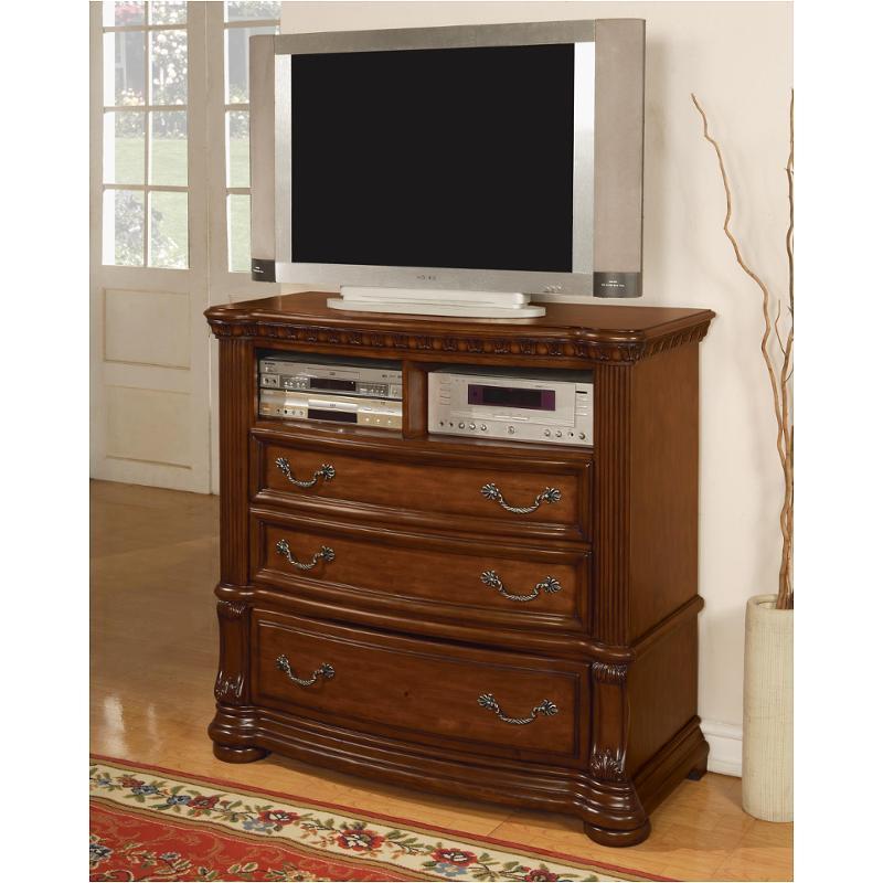 1635 66 flexsteel wynwood furniture media chest pine for Wynwood furniture bedroom set cordoba