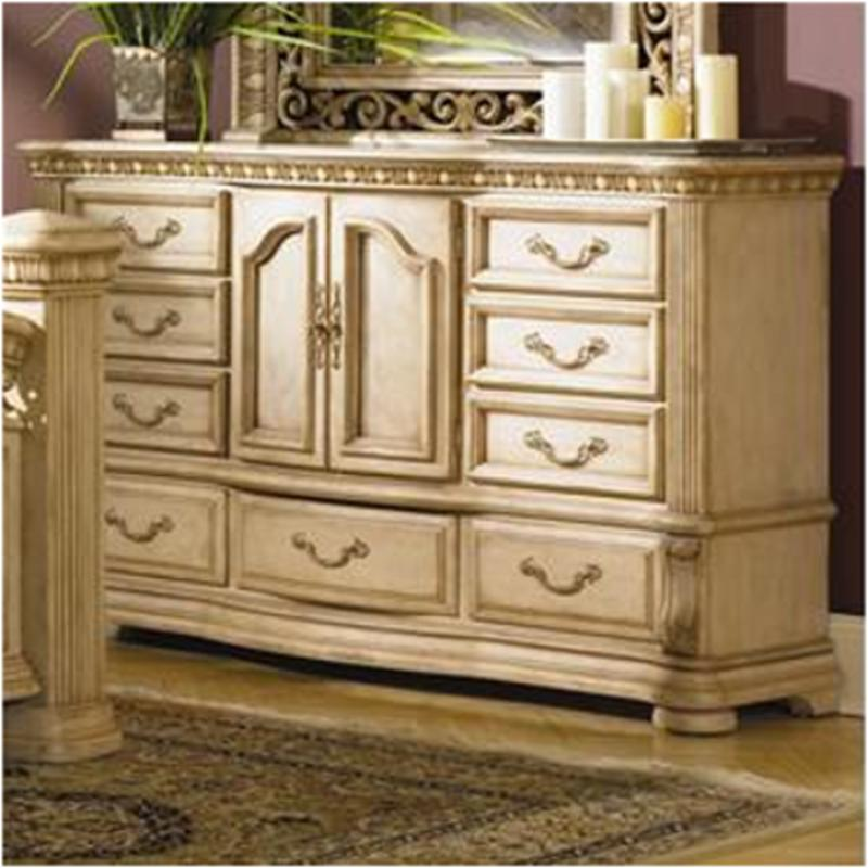 High Quality 1636 62 Flexsteel Wynwood Furniture Cordoba   Antiguo Blanco Bedroom Dresser