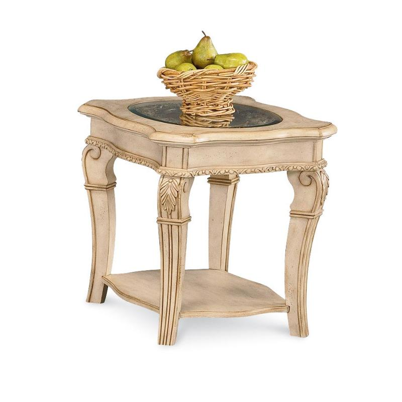 1636 05 flexsteel wynwood furniture cordoba antiguo blanco for Wynwood furniture bedroom set cordoba