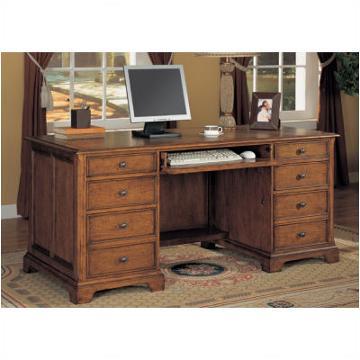 1231 34 Flexsteel Wynwood Furniture Halton Hills Executive Desk