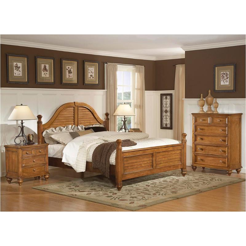1656 91q1 Flexsteel Wynwood Furniture Hadley Pointe Honey Pine