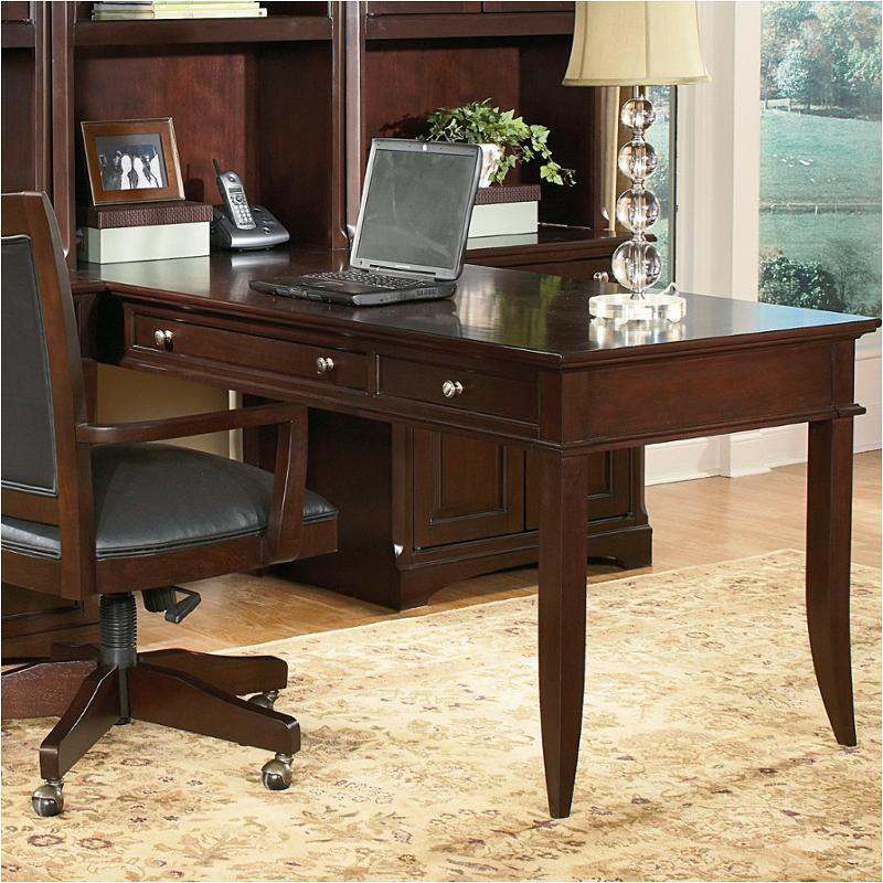 Flexsteel Furniture Telephone Number: 1381-36 Flexsteel Wynwood Furniture Table Peninsula Desk