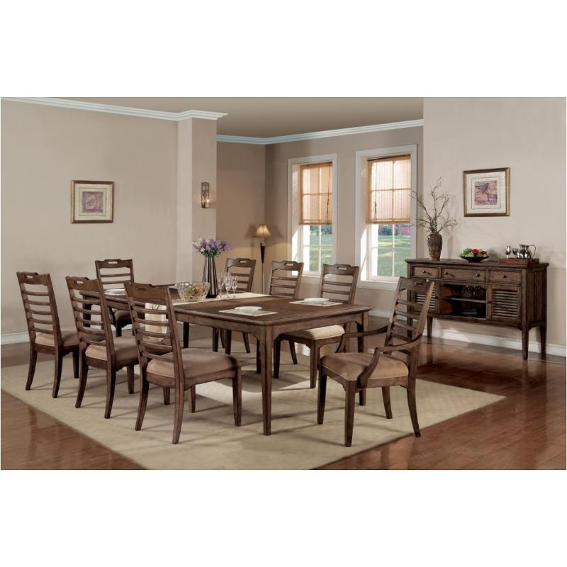 6641 30 Flexsteel Wynwood Furniture Newberry Dining Room Dining Table