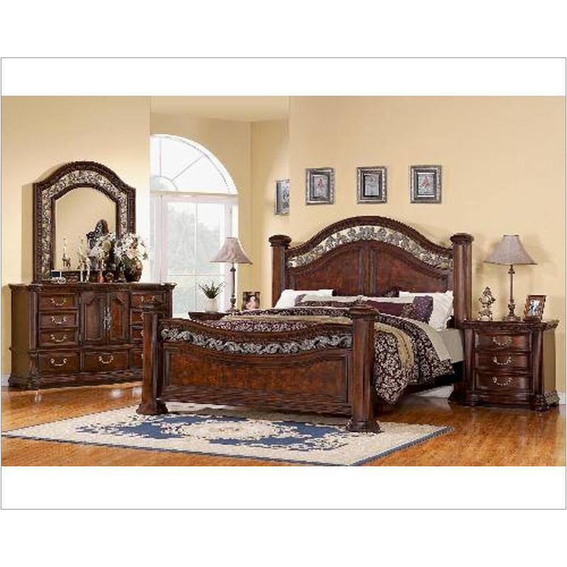 Delightful 1605 95 Ck Flexsteel Wynwood Furniture Alicante Bedroom Bed
