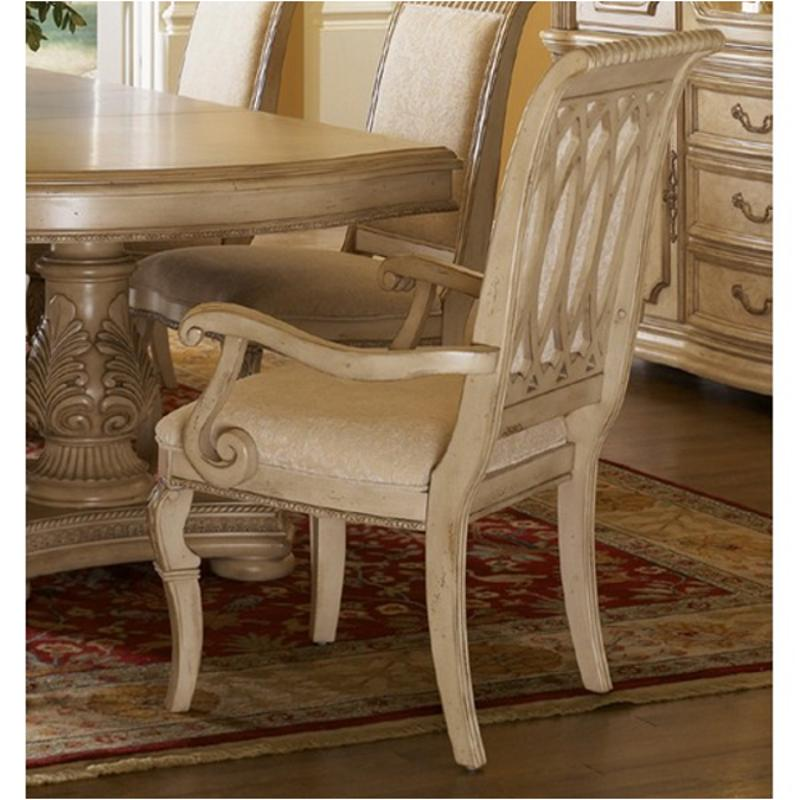 1636 41 Flexsteel Wynwood Furniture Cordoba   Antiguo Blanco Dining Room  Dining Chair