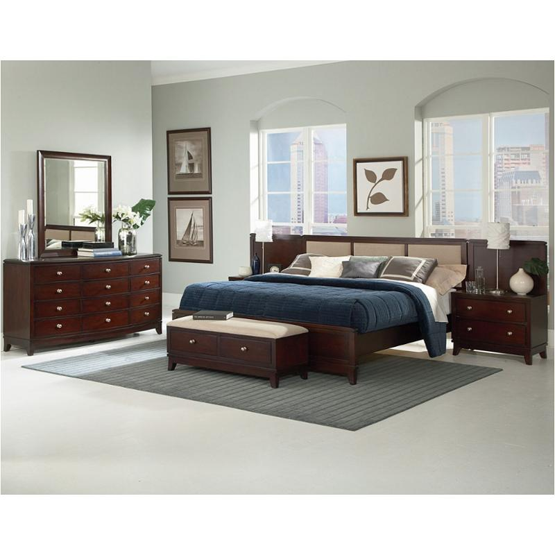 1606 90k1 Ck Flexsteel Wynwood Furniture Bellaire Bedroom Bed