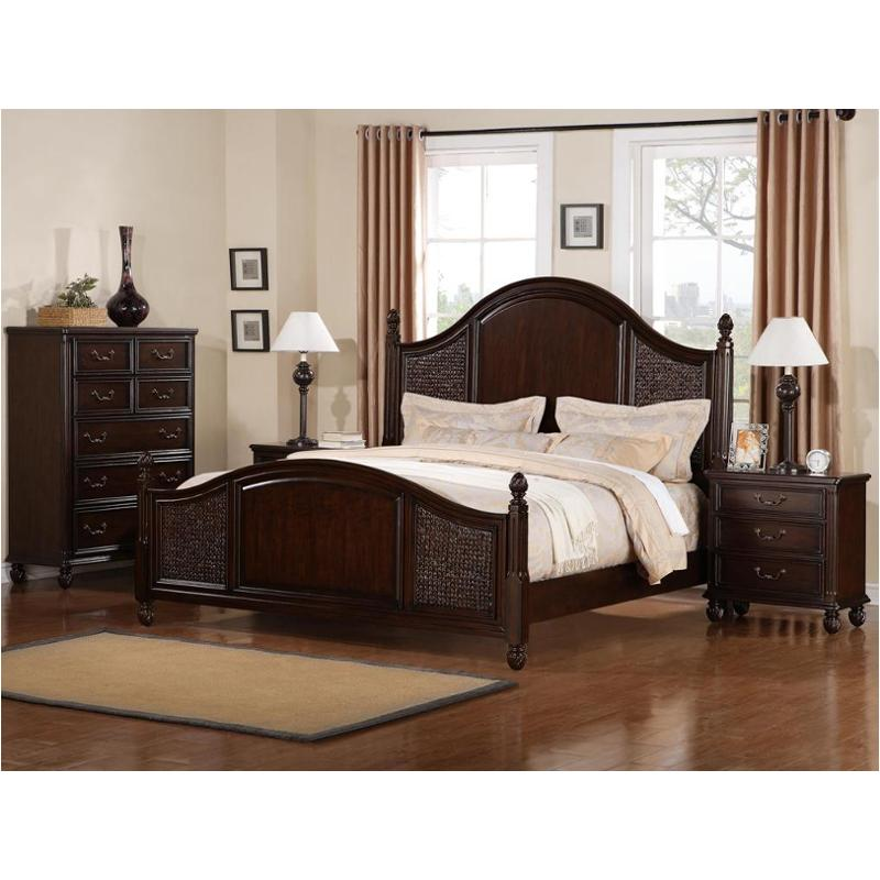 1576 90k1 flexsteel wynwood furniture bed. Black Bedroom Furniture Sets. Home Design Ideas