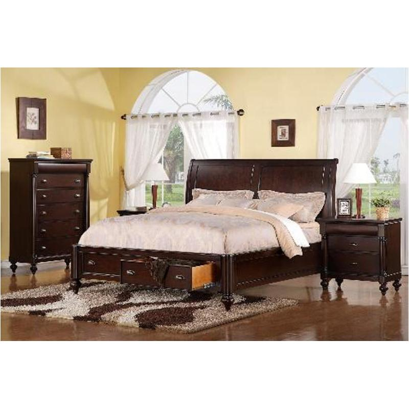 1815r 94q1 Flexsteel Wynwood Furniture Harrison R Bedroom Bed