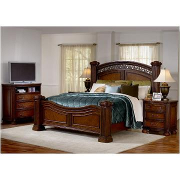 1777 90q1 Flexsteel Wynwood Furniture Queen Mansion Bed