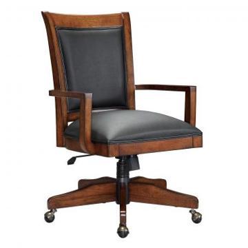 Offch1 Dc Flexsteel Wynwood Furniture Woodlands Soho Dark Chair