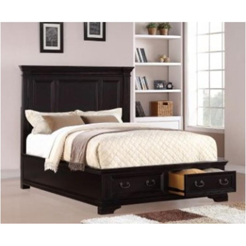 1909 90k1 St Flexsteel Wynwood Furniture Camberly Bedroom Bed