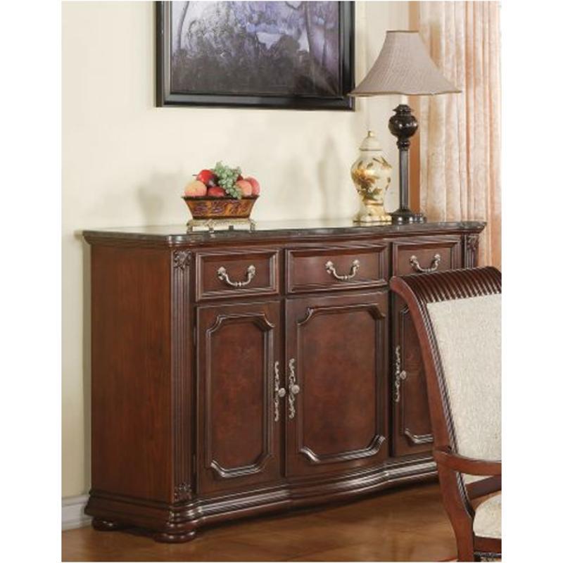 1604 262 Flexsteel Wynwood Furniture Granada Buffet With Veneer Top