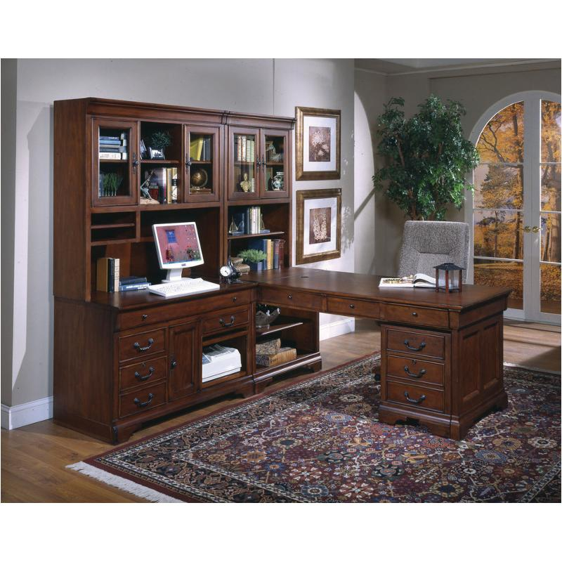 I85-345 Aspen Home Furniture Partners Desk Base End