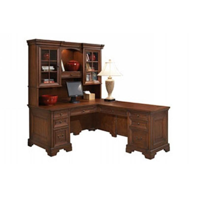I40 307 Aspen Home Furniture Richmond Computer Desk With Return