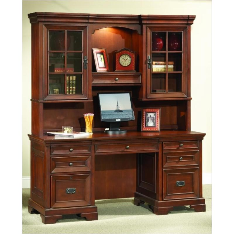 I40 316 Aspen Home Furniture Richmond 66in Credenza Desk