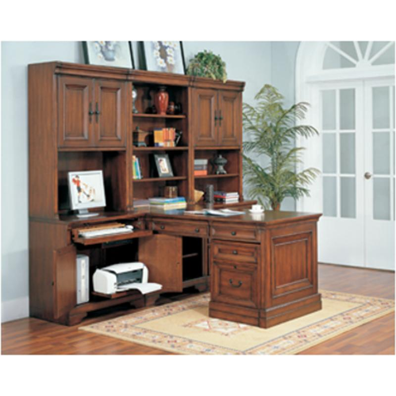 I40 343 Aspen Home Furniture Richmond Home Office Desk Open Hutch