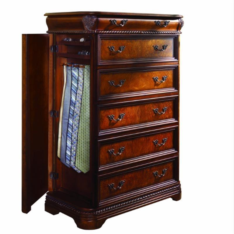 I74 456 aspen home furniture napa bedroom gentlemans chest for Napa valley bedroom furniture