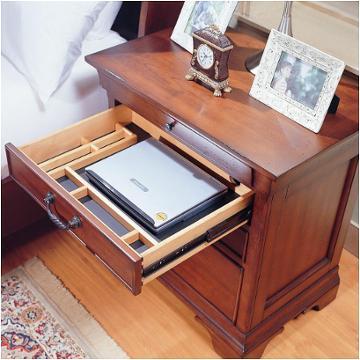 I85 9450 3 Aspen Home Furniture Chateau De Vin Liv360 Nightstand
