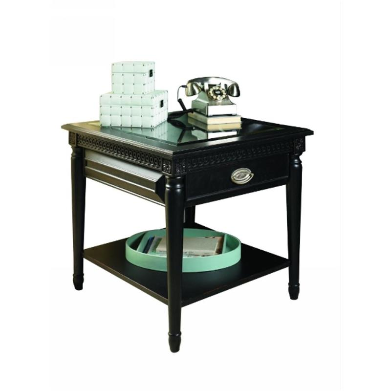I88 914 Aspen Home Furniture Young Classics Living Room End Table