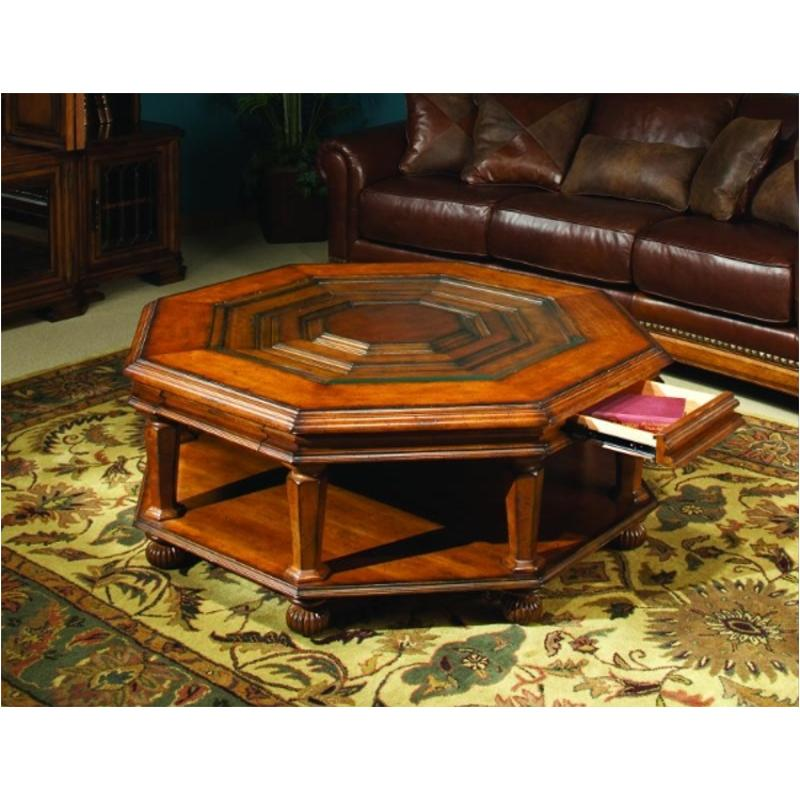 I99 909 Aspen Home Furniture Barolo Octagonal Cocktail Table