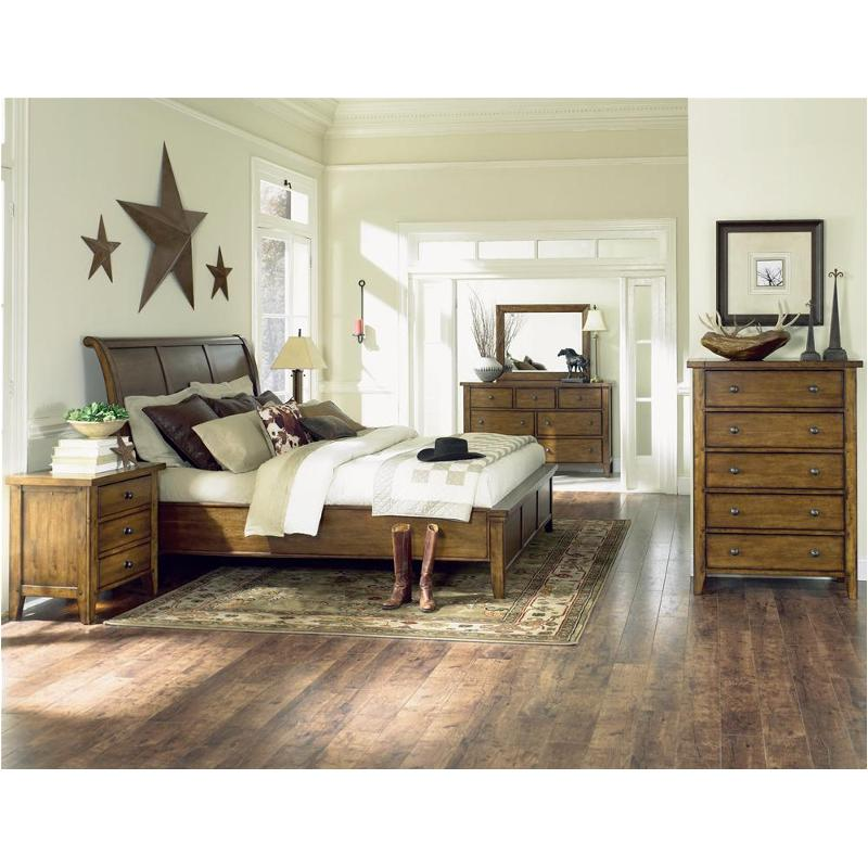 Imr 400 Aspen Home Furniture Queen Sleigh Bed With Low